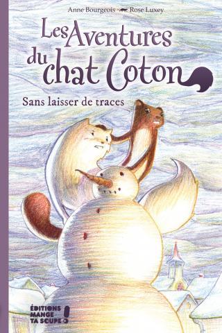 Couverture des aventures du chat Coton - Sans laisser de traces
