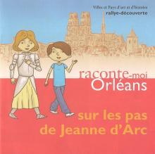 Couverture du livret Sur les pas de Jeanne d'Arc à Orléans